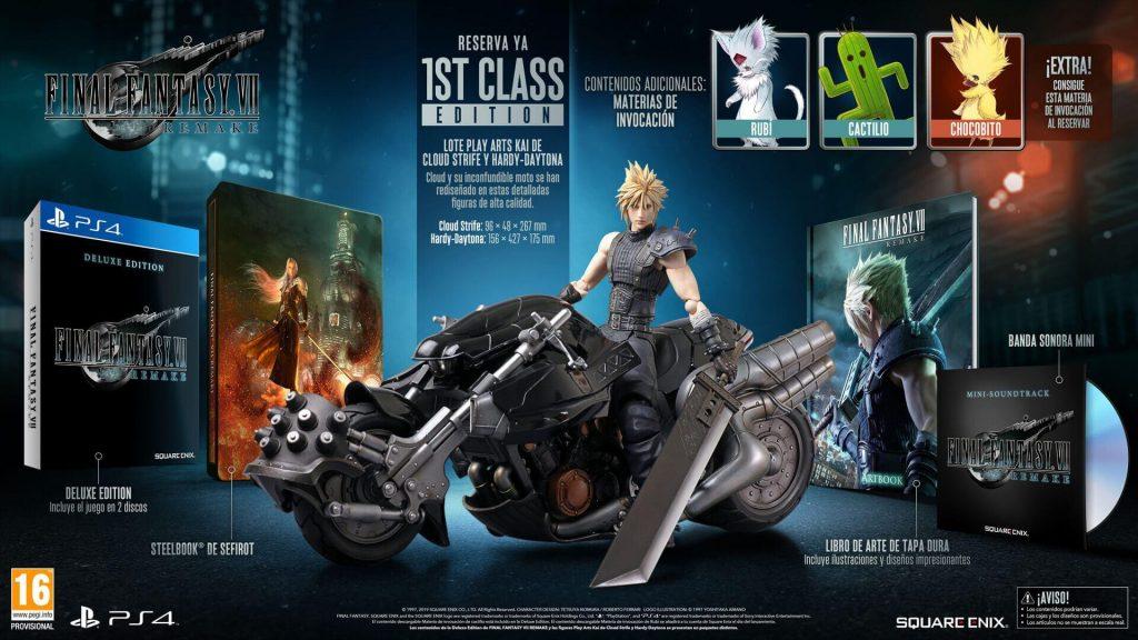 1ST Class Edition Final Fantasy VII Remake