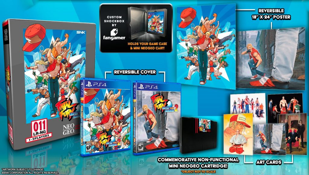 Fatal Fury Battle Archives Volume 2 Edición Coleccionista Playstation 4